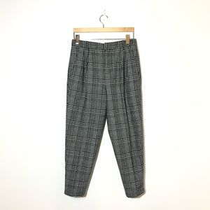 FOREVER 21 Plaid Trousers Size 28
